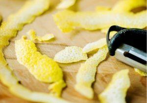 pelatura limone di Sorrento
